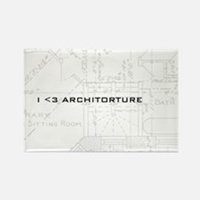 Architorture Rectangle Magnet