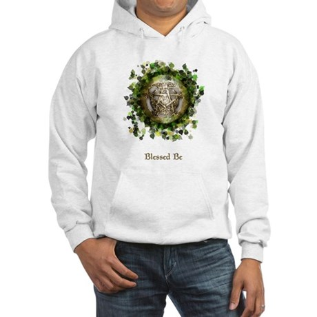 Blessed Be Pentacle Hooded Sweatshirt