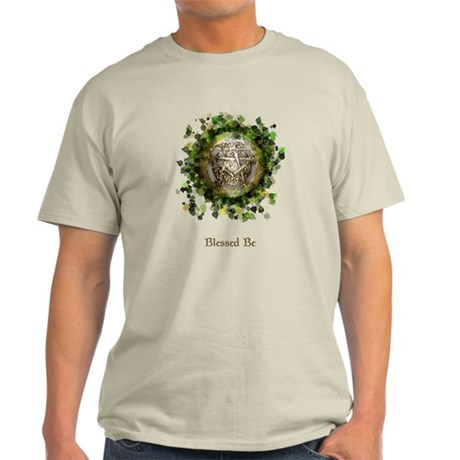 Blessed Be Pentacle Light T-Shirt