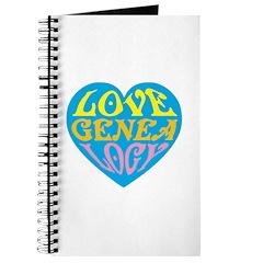 Groovy Love II Journal