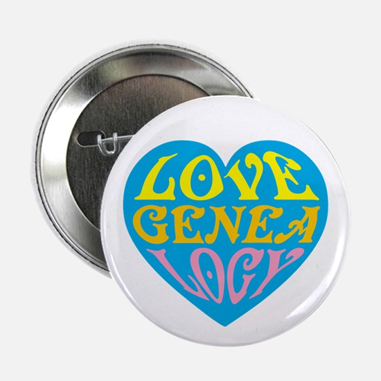 "Groovy Love II 2.25"" Button"