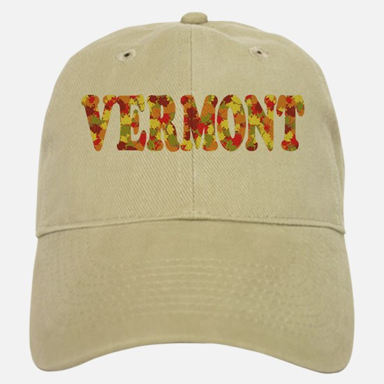 Autumn in Vermont Baseball Baseball Cap