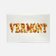 Autumn in Vermont Rectangle Magnet