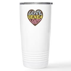 Groovy Love I Travel Mug