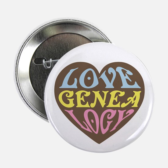 """Groovy Love I 2.25"""" Button"""