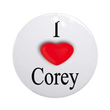 Corey Ornament (Round)