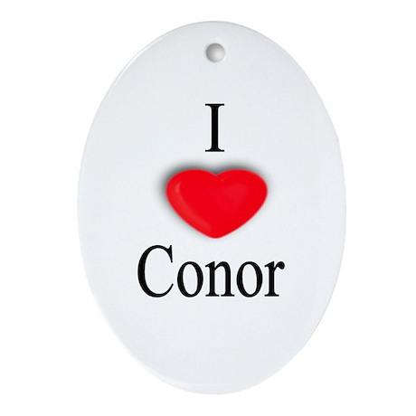 Conor Oval Ornament