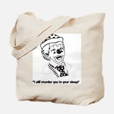 Clown Sleep Murder - Tote Bag