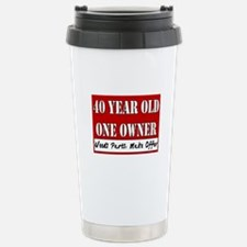 40th Birthday Travel Mug