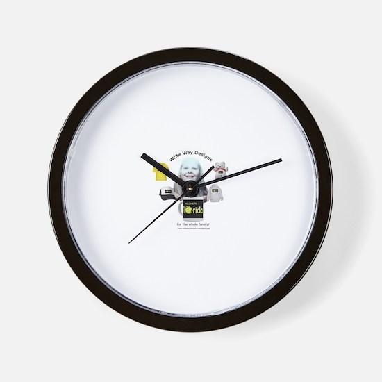 Welcome to the Write Way Desi Wall Clock
