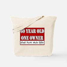 60th Birthday Tote Bag