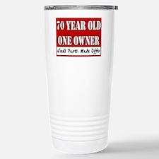 70th Birthday Travel Mug
