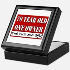 70th Birthday Keepsake Box