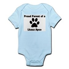 Proud: Lhasa Apso  Infant Creeper