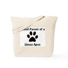 Proud: Lhasa Apso  Tote Bag
