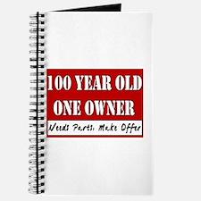 100th Birthday Journal