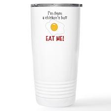 Chicken's Butt Travel Coffee Mug