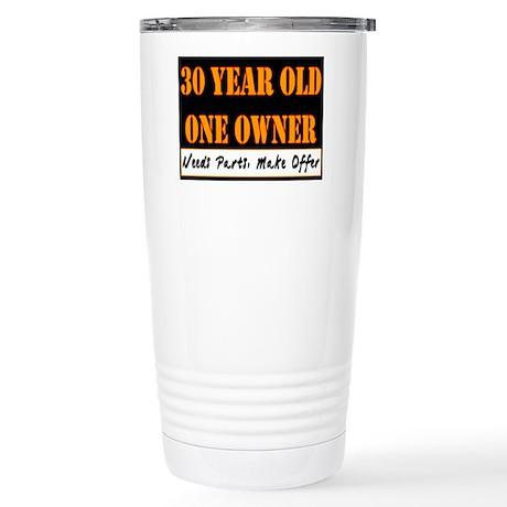 30th Birthday Stainless Steel Travel Mug