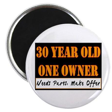 "30th Birthday 2.25"" Magnet (10 pack)"