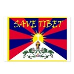 Free Tibet / Save Tibet Postcards (Package of 8)