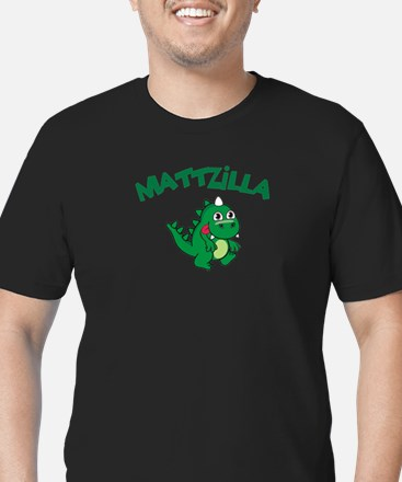 Mattzilla Men's Fitted T-Shirt (dark)