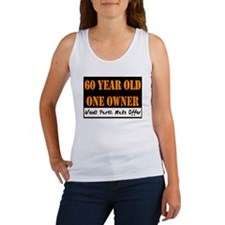60th Birthday Women's Tank Top