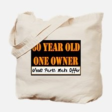 60th Birthday Tote Bag