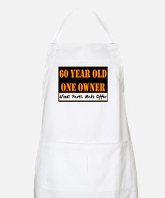60th Birthday BBQ Apron