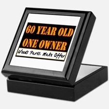 60th Birthday Keepsake Box