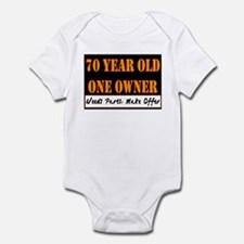 70th Birthday Infant Bodysuit