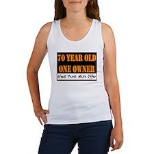 70th Birthday Women's Tank Top