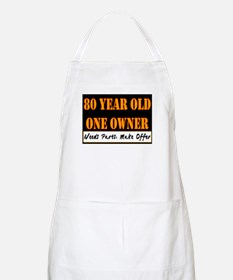 80th Birthday BBQ Apron