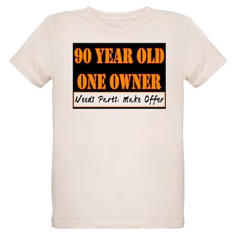 90th Birthday Organic Kids T-Shirt