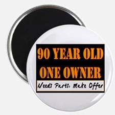 90th Birthday Magnet