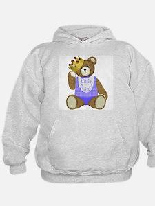 Little Prince Teddy Bear Hoodie
