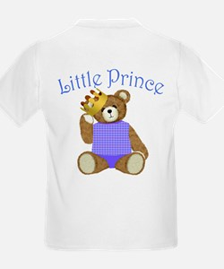 Little Prince Teddy Bear Kids T-Shirt