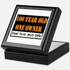 100th Birthday Keepsake Box