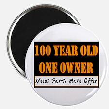 100th Birthday Magnet