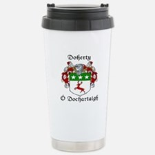 Doherty Irish/English Stainless Steel Travel Mug