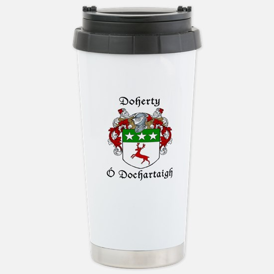 Doherty Irish/English Stainless Steel Travel Mug