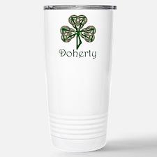Doherty Shamrock Stainless Steel Travel Mug