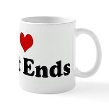 I Love Tight Ends Mug
