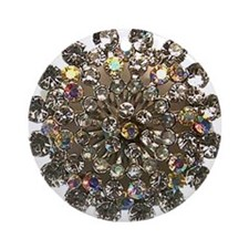 Cool Brooches and pins Ornament (Round)