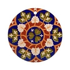 Brooches and pins Ornament (Round)