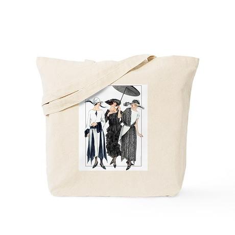 Three Fashionable Mademoiselles Tote Bag