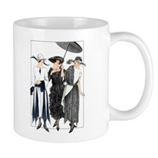 Three Fashionable Mademoise Coffee Mug