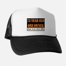75th Birthday Trucker Hat