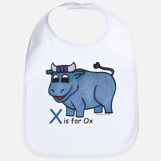 X is for Ox Bib