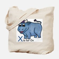 X is for Ox Tote Bag