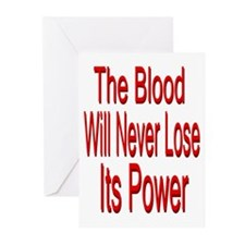The Blood Greeting Cards (Pk of 20)